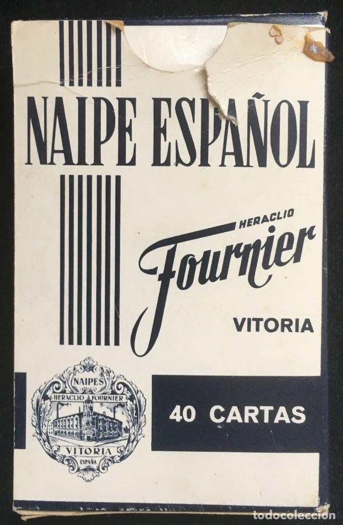 Barajas de cartas: BARAJA DE 40 CARTAS NAIPE ESPAÑOL DE HERACLIO FOURNIER CON PUBLICIDAD DE MAQUINAS DE AFEITAR PHILIPS - Foto 3 - 134411610