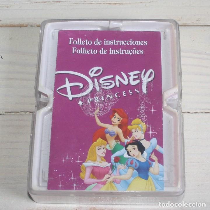 Barajas de cartas: Estuche con 4 minibarajas Princesas Disney - Foto 3 - 134581678