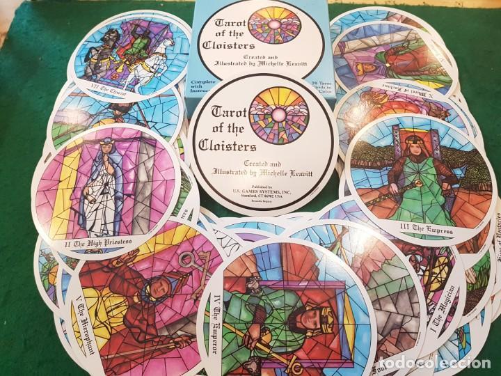TAROT OF THE CLOISTERS - EL TAROT DE LOS CLAUSTROS (Juguetes y Juegos - Cartas y Naipes - Barajas Tarot)