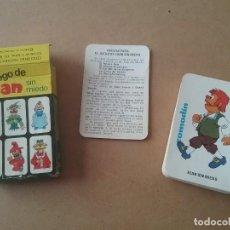 Barajas de cartas: BARAJA INFANTIL EL JUEGO DE JUAN SIN MIEDO EDICIONES RECREATIVAS 1979. Lote 134766670