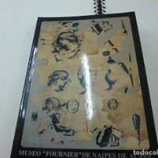 Barajas de cartas: (MUSEO FOURNIER) DE NAIPES DE ALAVA - CATALOGO TOMO III. 1994 -CCC 1. Lote 134793610
