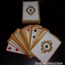 Barajas de cartas: BARAJA HISTÓRICA PRIMERA CRUZADA BÉLGICA, SIGLO XIX, REPRODUCCIÓN. Lote 134899150