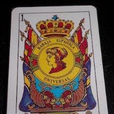 Barajas de cartas: BARAJA ESPAÑOLA UNIVERSAL, PRECINTADA. Lote 134899554