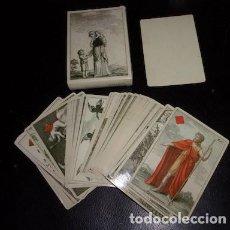 Barajas de cartas: BARAJA TRANSFORMACIÓN ALEMANIA SIGLO XIX , REPRODUCCIÓN. Lote 134900394