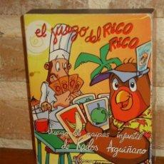 Barajas de cartas: BARAJA EL JUEGO DEL RICO RICO DE KARLOS ARGUIÑANO.FOURNIER.. Lote 134949450