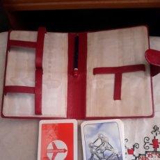 Barajas de cartas: 2 BARAJAS DE POKER PUBLICITARIAS, BELGA Y SUIZA. Lote 135014425