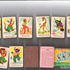 Barajas de cartas: SNAP. A CARD GAME WITH RULES FOR CHILDREN. WHITMAN. COMPLETA. 44 CARTAS EN CAJA. Nº 4128. Lote 135224734