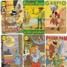 Barajas de cartas: JUEGO 44 CARTAS - PETER PAN Y LOS PIRATAS - W DISNEY - BARAJA INFANTIL - H. FOURNIER - NUEVA. Lote 187157882