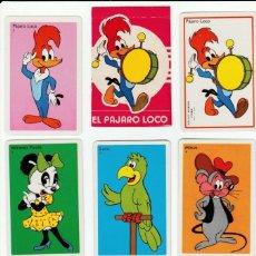 Barajas de cartas: JUEGO 33 CARTAS - EL PAJARO LOCO - WALTER LANTZ PROD.- BARAJA INFANTIL -AÑO 1974 -H. FOURNIER -NUEVA. Lote 145502240
