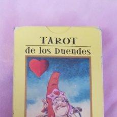 Barajas de cartas: BARAJA CARTAS TAROT DE LOS DUENDES ORBI. FABBRI RBA. Lote 135669987
