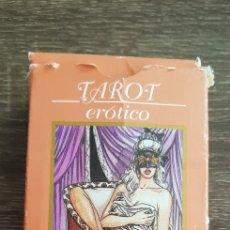 Barajas de cartas: BARAJA CARTAS TAROT ERÓTICO EDICIONES ORBIS 79 CARTAS COMO NUEVAS. Lote 135678163
