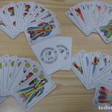 Barajas de cartas: BARAJA 40 CARTAS + 2 COMODINES NAIPES CASTAÑE SABADELL. Lote 135807450