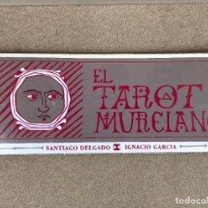 Barajas de cartas: EL TAROT MURCIANO. NOVOGRAF - EDICION LIMITADA - SANTIAGO DELGADO - IGNACIO GARCIA. Lote 135847078