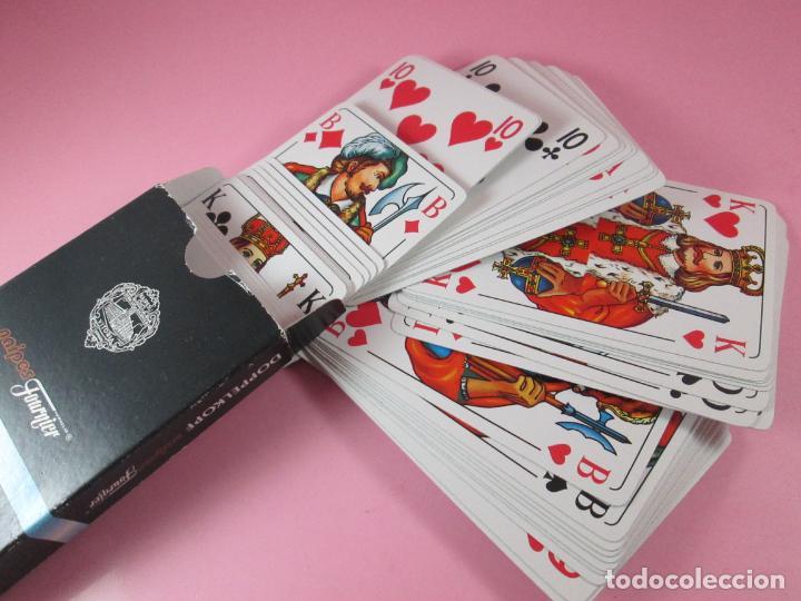 BARAJAS/CARTAS/NAIPES-DOPPELKOPP-FRANZÖSISCHES BILD-HERACLIO FOURNIER-PÓKER-NUEVA (Juguetes y Juegos - Cartas y Naipes - Barajas de Póker)