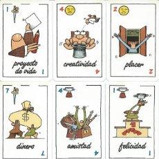 Barajas de cartas: BARAJA ESPAÑOLA LA VIDA EN JUEGO -AÑO 2003. Lote 136158542