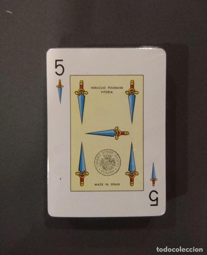 Barajas de cartas: BARAJA DE CARTAS HERACLIO FOURNIER PUBLICIDAD LA LEGION EJERCITO POKER ESPAÑOL 54 CARTAS PRECINTADA - Foto 2 - 136177474