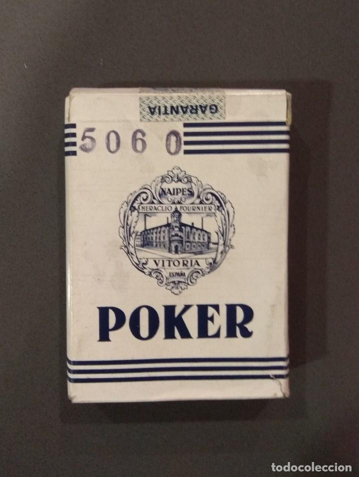 ANTIGUA BARAJA DE CARTAS HERACLIO FOURNIER POKER 54 CARTAS PRECINTADA (Juguetes y Juegos - Cartas y Naipes - Barajas de Póker)
