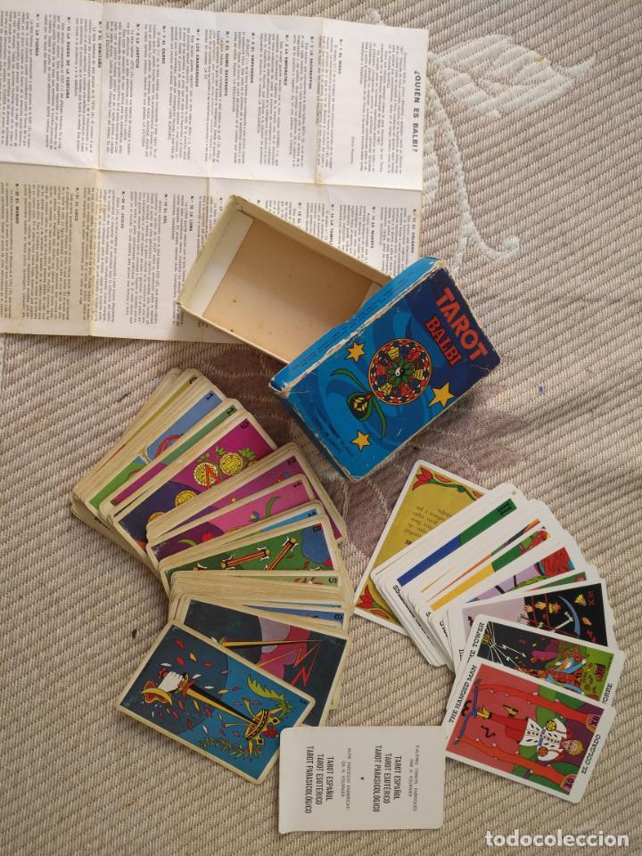 TAROT BALBI COMPLETO 78 CARTAS EN SU CAJA ORIGINAL CON INSTRUCCIONES. AÑOS 70 FOURNIER HERACLIO (Juguetes y Juegos - Cartas y Naipes - Barajas Tarot)