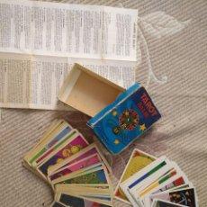 Barajas de cartas: TAROT BALBI COMPLETO 78 CARTAS EN SU CAJA ORIGINAL CON INSTRUCCIONES. AÑOS 70 FOURNIER HERACLIO. Lote 136258446