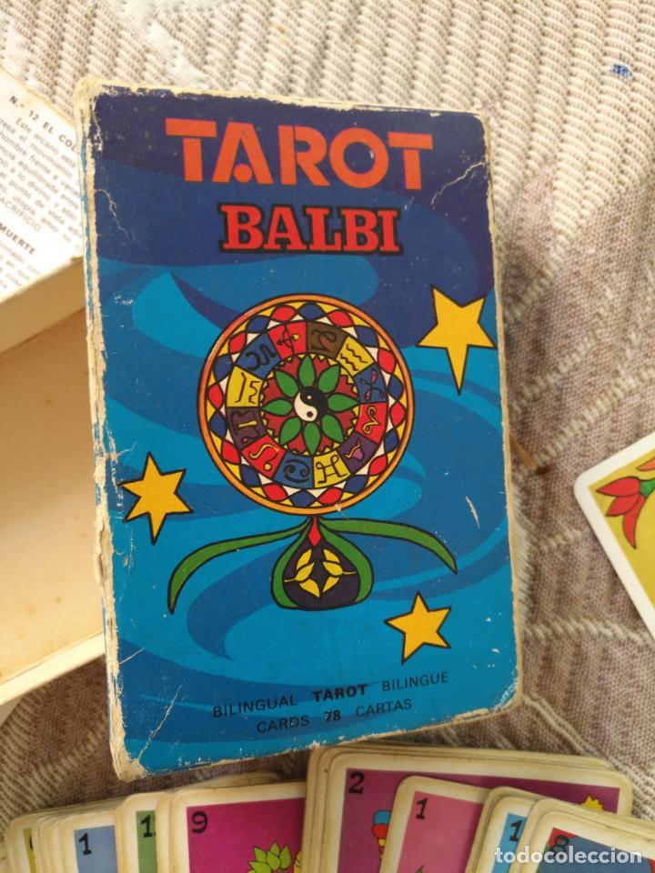 Barajas de cartas: Tarot Balbi completo 78 CARTAS en su caja original con instrucciones. Años 70 FOURNIER HERACLIO - Foto 3 - 136258446