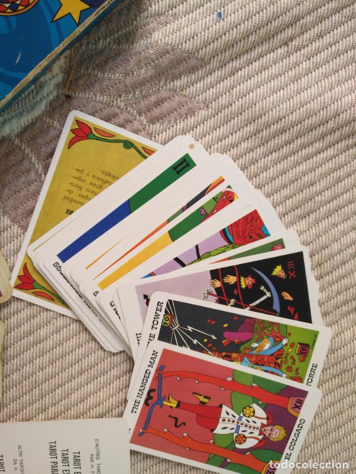 Barajas de cartas: Tarot Balbi completo 78 CARTAS en su caja original con instrucciones. Años 70 FOURNIER HERACLIO - Foto 4 - 136258446