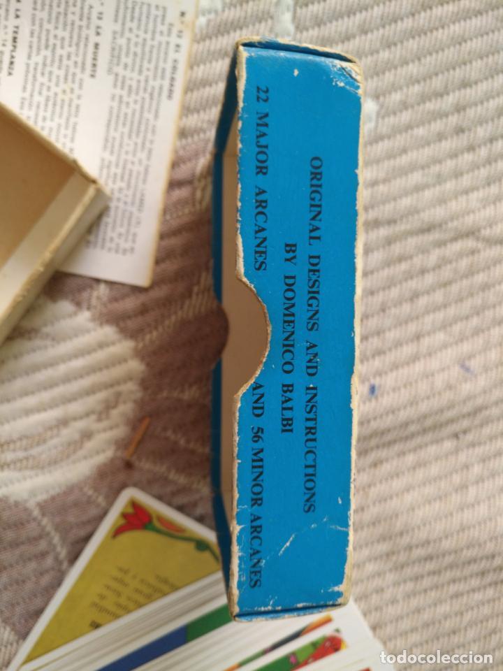 Barajas de cartas: Tarot Balbi completo 78 CARTAS en su caja original con instrucciones. Años 70 FOURNIER HERACLIO - Foto 5 - 136258446