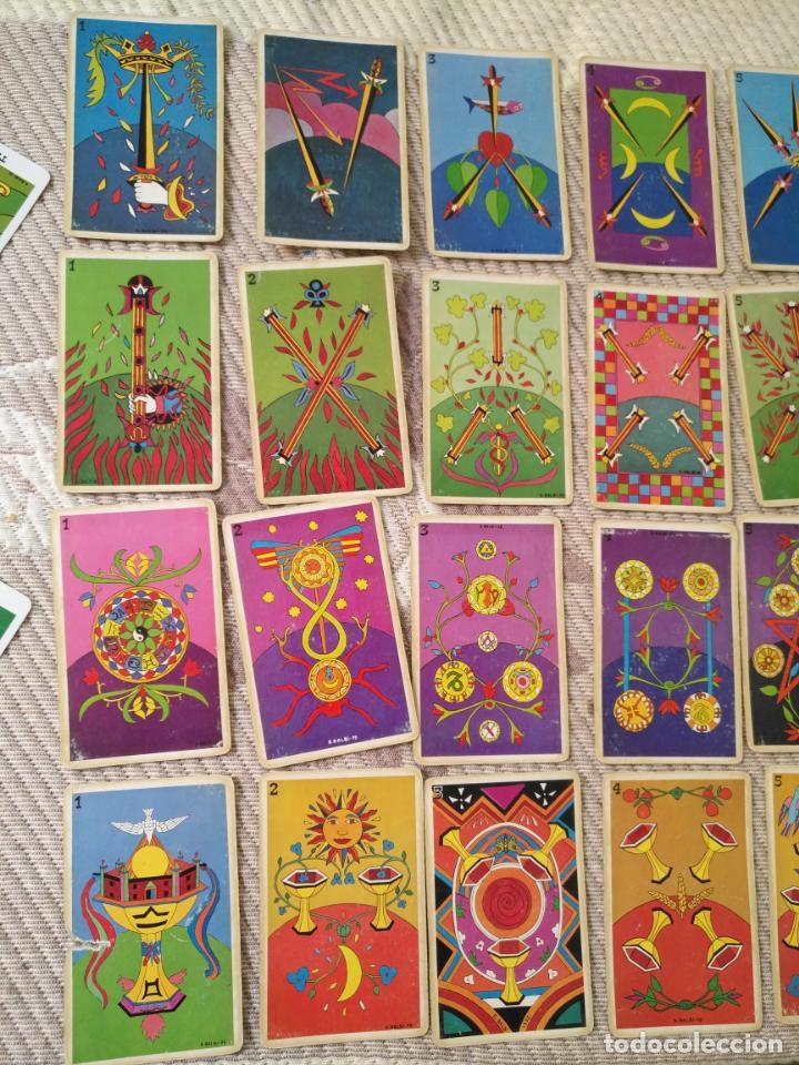 Barajas de cartas: Tarot Balbi completo 78 CARTAS en su caja original con instrucciones. Años 70 FOURNIER HERACLIO - Foto 7 - 136258446