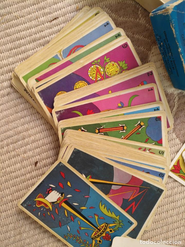 Barajas de cartas: Tarot Balbi completo 78 CARTAS en su caja original con instrucciones. Años 70 FOURNIER HERACLIO - Foto 8 - 136258446