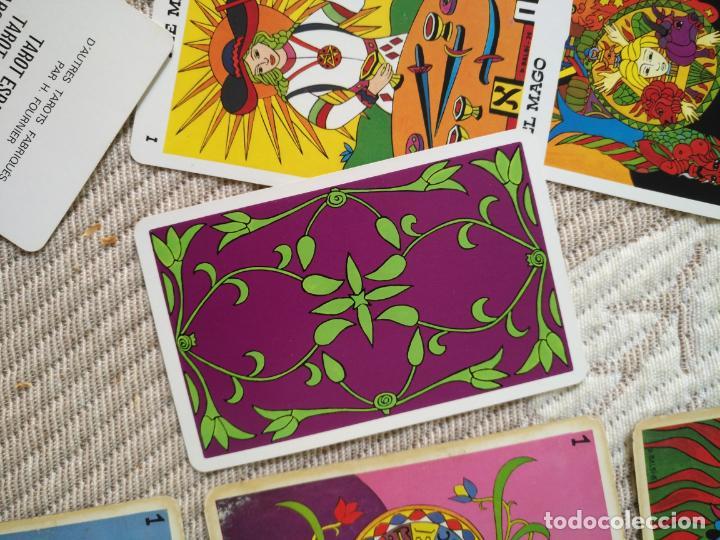 Barajas de cartas: Tarot Balbi completo 78 CARTAS en su caja original con instrucciones. Años 70 FOURNIER HERACLIO - Foto 9 - 136258446