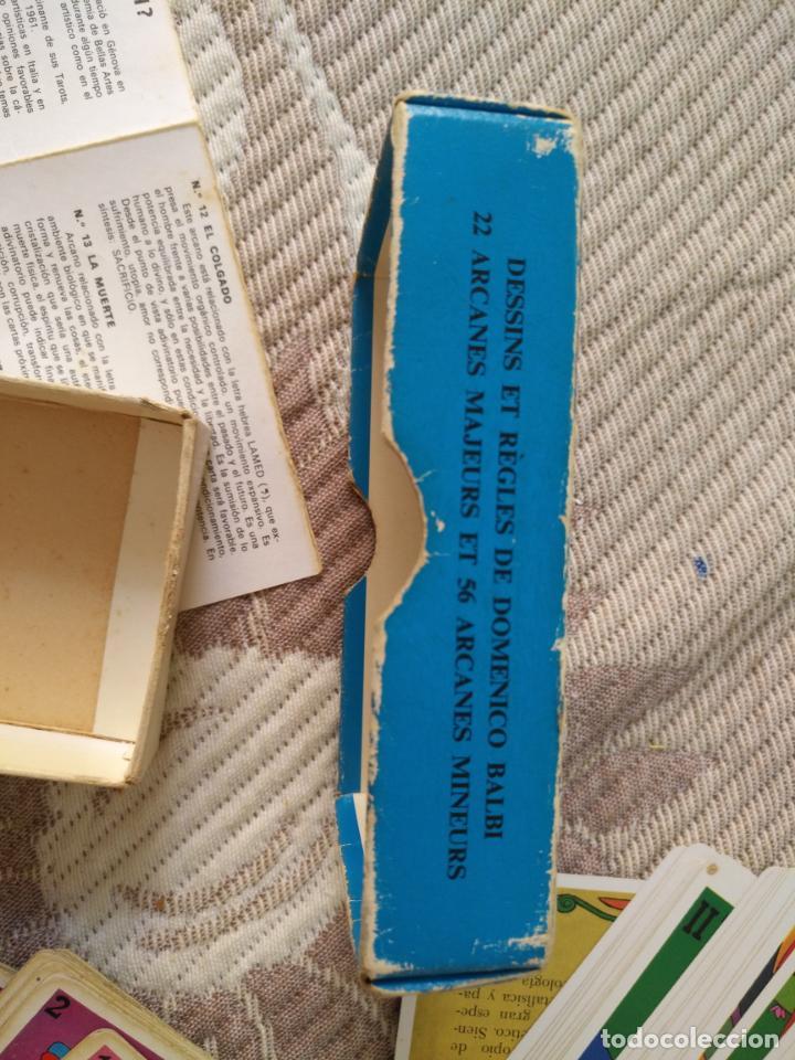 Barajas de cartas: Tarot Balbi completo 78 CARTAS en su caja original con instrucciones. Años 70 FOURNIER HERACLIO - Foto 10 - 136258446