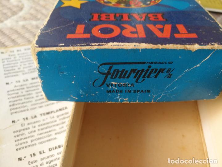 Barajas de cartas: Tarot Balbi completo 78 CARTAS en su caja original con instrucciones. Años 70 FOURNIER HERACLIO - Foto 11 - 136258446