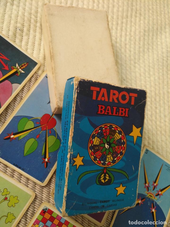 Barajas de cartas: Tarot Balbi completo 78 CARTAS en su caja original con instrucciones. Años 70 FOURNIER HERACLIO - Foto 12 - 136258446