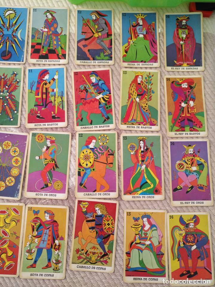 Barajas de cartas: Tarot Balbi completo 78 CARTAS en su caja original con instrucciones. Años 70 FOURNIER HERACLIO - Foto 13 - 136258446