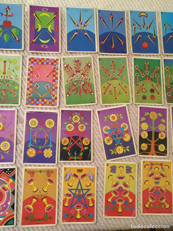Barajas de cartas: Tarot Balbi completo 78 CARTAS en su caja original con instrucciones. Años 70 FOURNIER HERACLIO - Foto 14 - 136258446
