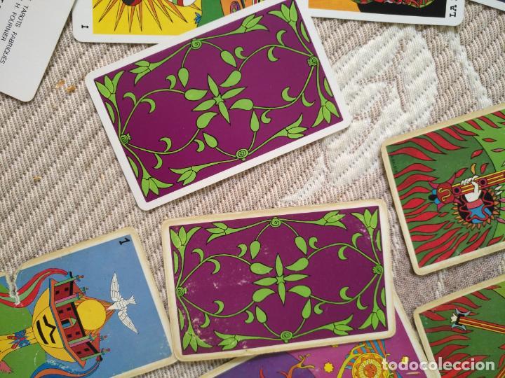 Barajas de cartas: Tarot Balbi completo 78 CARTAS en su caja original con instrucciones. Años 70 FOURNIER HERACLIO - Foto 16 - 136258446