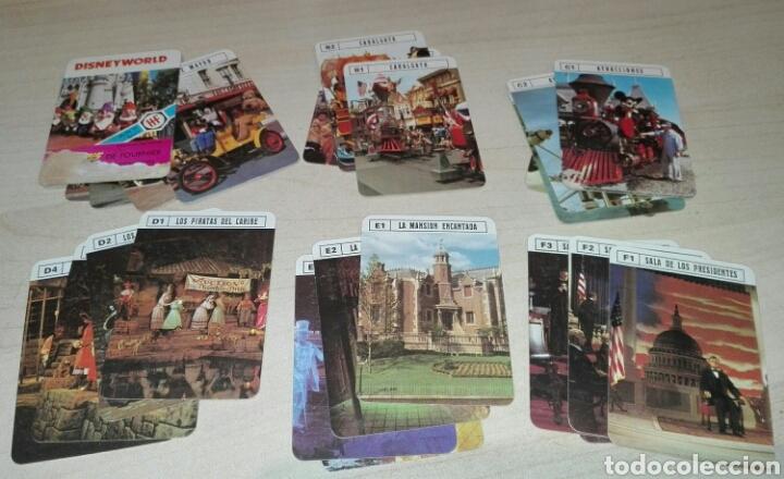 JUEGO DE CARTAS LOS MINIS *DISNEY WORLD* AÑO 1979 FOURNIER (Juguetes y Juegos - Cartas y Naipes - Barajas Infantiles)