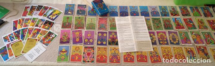 Barajas de cartas: Tarot Balbi completo 78 CARTAS en su caja original con instrucciones. Años 70 FOURNIER HERACLIO - Foto 2 - 136258446