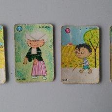 Barajas de cartas: CARTAS EL JUEGO DE LAS RAZAS. Lote 136318797