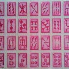 Barajas de cartas: BARAJA ESPAÑOLA RECORTABLE. Lote 136420954
