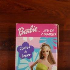 Barajas de cartas: BARBIE - BARAJA JUEGO DE CARTAS LAS 7 FAMILIAS - JEU DE 7 FAMILLES. Lote 29372456