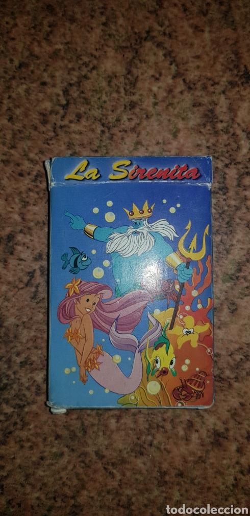 BARAJA DE CARTAS LA SIRENITA 32 CARTAS COMPLETA (Juguetes y Juegos - Cartas y Naipes - Otras Barajas)