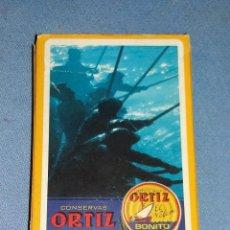 Barajas de cartas: CARTAS NAIPES FOURNIER CONSERVAS ORTIZ BARAJA COMPLETA EN MUY BUEN ESTADO VER FOTOS Y DESCRIPCION. Lote 136476378