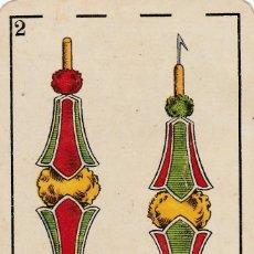 Mazzi di carte: NAIPE SUELTO CARTA ANTIGUA BARAJA TAURINA - CHOCOLATE ANGELICAL - FOT REVR TORERO MANOLETE. Lote 136511042