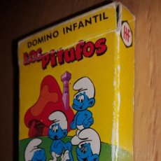 Jeux de cartes: BARAJA DOMINO LOS PITUFOS. Lote 136724634