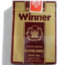 Barajas de cartas: BARAJA DE CARTAS-PLAYING CARD-WINNER -SIN ESTRENAR CON PLASTICO DE ORIGEN. Lote 136754522