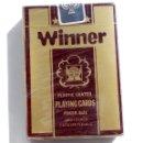 Barajas de cartas: BARAJA DE CARTAS-PLAYING CARD-WINNER -SIN ESTRENAR CON PLASTICO DE ORIGEN. Lote 136754694