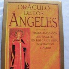Barajas de cartas: TAROT. EL ORACULO DE LOS ANGELES AMBIKA WAUTERS DESCATALOGADO. Lote 136890846
