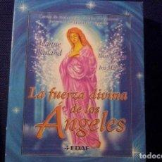 Barajas de cartas: TAROT LA FUERZA DIVINA DE LOS ANGELES JEANNE RULAND. Lote 136892506