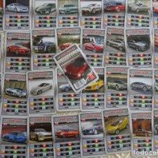 Barajas de cartas: BARAJA DE CARTAS INFANTIL DE CUARTETOS. COCHES NOVEDOSOS FUTURO PROTOTIPOS. 70 GR. Lote 136962902