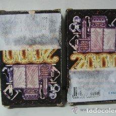 Barajas de cartas: JEU DE 55 CARTES MAGIQUES 2000. Lote 137100986
